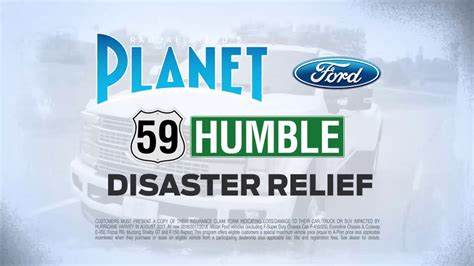 hurricane harvey disaster relief  planet ford