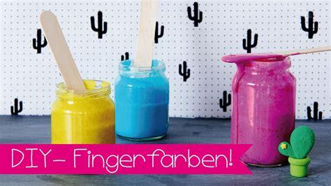 diy mit kindern diy fingerfarbe i basteln mit kindern