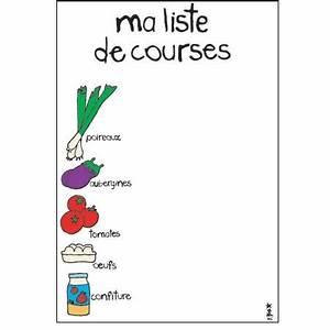 Listes De Courses : pour les courses je suis la liste le blog du consomacteur ~ Nature-et-papiers.com Idées de Décoration