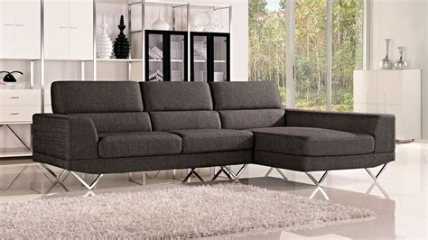 casa chaise grey trago fabric sectional sofa zuri furniture