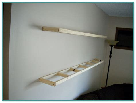 floating shelves  fireplace