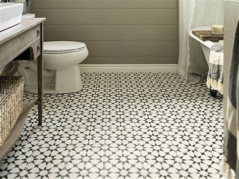 Tile Bathroom Floor Ideas by Black And White Bathroom Designs Vintage Bathroom Floor