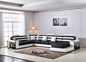 Big Size Sofa : yg furniture 2018 living room 7pcs with tables u shaped ~ A.2002-acura-tl-radio.info Haus und Dekorationen