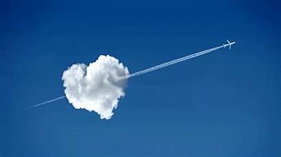 Aviation Heart Air Valentine Clouds Cloud Sprinkles