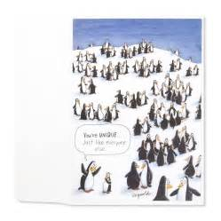 bridal shower gift card unique penguin birthday cards papyrus