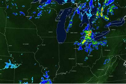 Weather Cleveland Today Scattered Rain Ohio Forecast