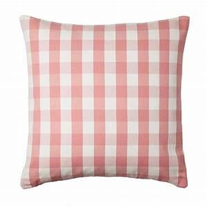 IKEA SMANATE CUSHION COVER Pillow Sham PINK White