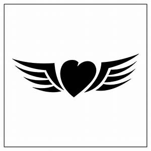 Tribal Heart & Wings | Tattoo Ideas | Pinterest | Heart ...