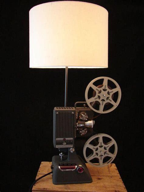 Upcycled Kodak 16mm Projector Lamp By Benclifdesigns On Etsy 440 00 Illuminating Upcycled