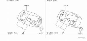 Nissan Xterra Ignition Lock Escutcheon  Sage  Steering
