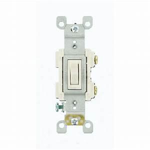 Leviton 15 Amp Preferred Switch  White-r62-rs115-02w