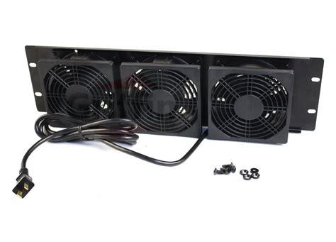control panel fan rackmount fan by griffin 3u ultra quiet triple