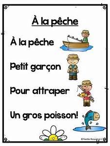 Poèmes Pour Le Printemps French Spring Pocket Chart