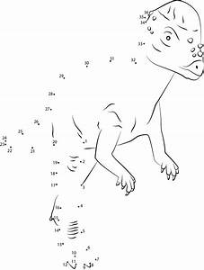 Dinosaur Dot to Dots for Animals Lovers Loving Printable
