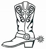Coloring Boots Winter Pages Boot Printable Rubber Getcolorings sketch template