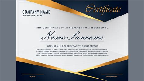 certificate design images certificates templates