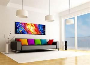 Abstrakte Bilder Leinwand : bilder auf leinwand lgem lde abstrakte kunst handgemalt moderne gro e paralle modern ~ Sanjose-hotels-ca.com Haus und Dekorationen