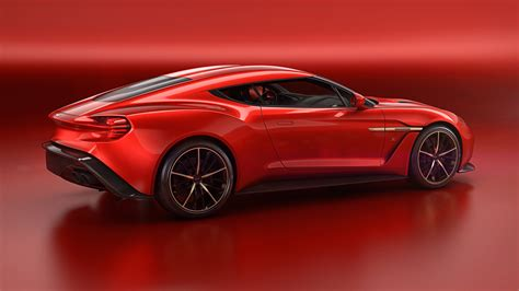 Aston Martin Vanquish Zagato Concept Ups The Style