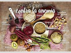 10 alimentos ricos en hierro para combatir la anemia