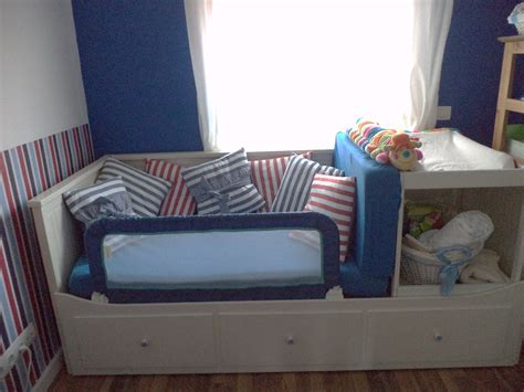 Ikea Sofa With Storage by Guest Bed Makes Space For Baby Changing Table Ikea