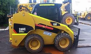 Caterpillar Cat 246c Thru 299c Hydraulic And Electric