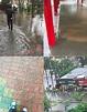 暴雨來襲!他曝台南這學校淹成水樂園 學長笑菜逼八 - 生活 - 中時電子報