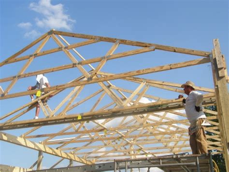 home design plans pole barn trusses