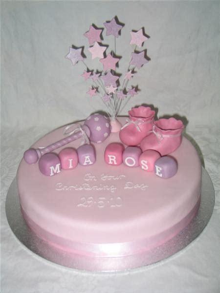 kylies cakes  mias christening cake