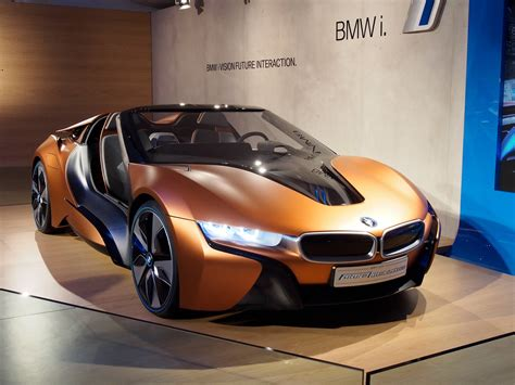 Bmw Confirms Three New I Models  I8 Roadster, New I3 & I