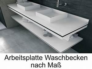 Arbeitsplatte Mit Integriertem Waschbecken : arbeitsplatte f r bad eh72 hitoiro ~ Michelbontemps.com Haus und Dekorationen