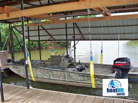 Best Pontoon Boat Lifts by 3000 Lb Sling Boat Lift Boat Lift World
