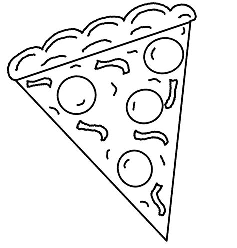 pizza coloring pages  bestofcoloringcom