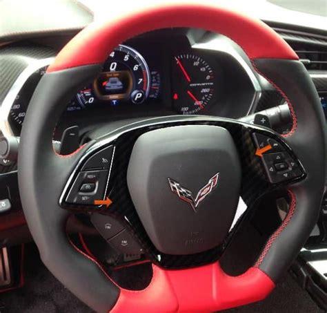 corvette hydrocarbon steering wheel bezel