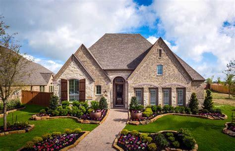 Model Home In Houston Texas, Aliana 55s Community