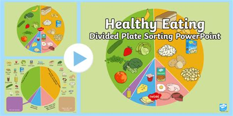 Diagram Of Healthy Plate by Healthy Food List Ppt Diet Plan