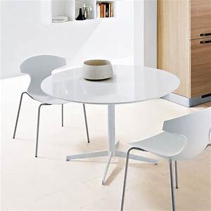 Jasper Round Dining Table-White-White Glass Dining Tables