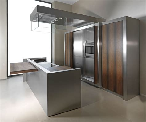 kitchen stainless steel cabinets 7 stainless steel kitchen cabinets with modern look 6123