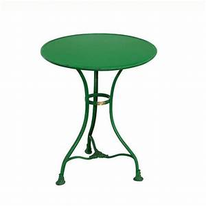 Runder Kleiner Tisch : runder garten tisch pelage aus metall ~ Markanthonyermac.com Haus und Dekorationen