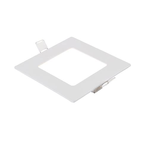 110v 220v led recessed ceiling panel light square