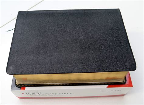 Crossway Esv Study Bible, Personal Size (genuine Leather