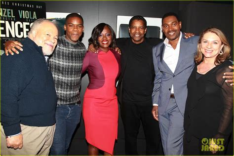 Viola Davis Amp Denzel Washington Attend Screening Of Their
