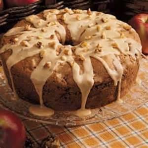 Caramel Apple Cake Recipe with Icing