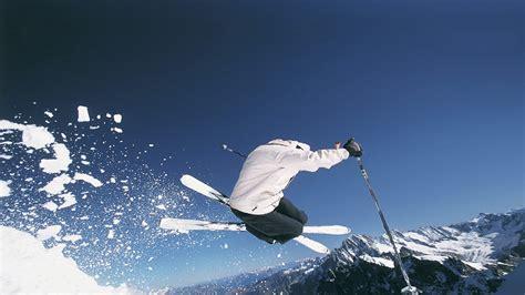 Skiing Winter Snow Ski Mountains Wallpaper 1920x1080