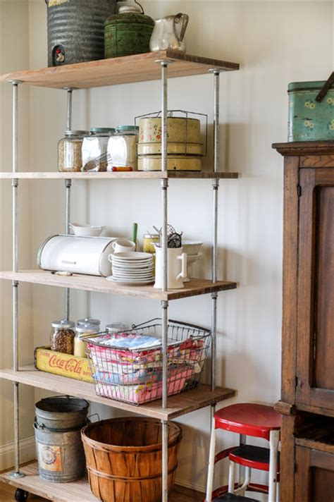 industrial shelving diy industrial kitchen columbus  julie ranee photography