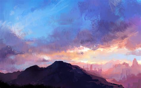 Digital Scenery Wallpaper by Wallpaper Wiki Landscape Mountains Wallpaper
