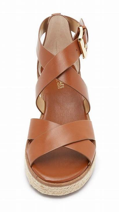 Kors Michael Sandals Darby Brown Shoes