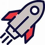 Rocket Launch Icon Ship Transparent Clipart Icons