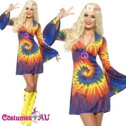 60s Women Hippie Tie Dye Fashions