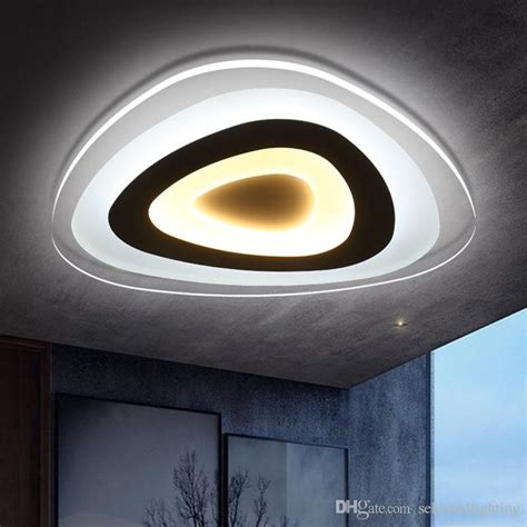 ultra thin modern ceiling light flush mount light laras