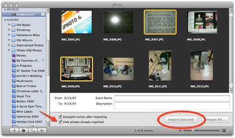 how to import photos from iphone to iphoto iphoto 7 fills glaring holes tidbits